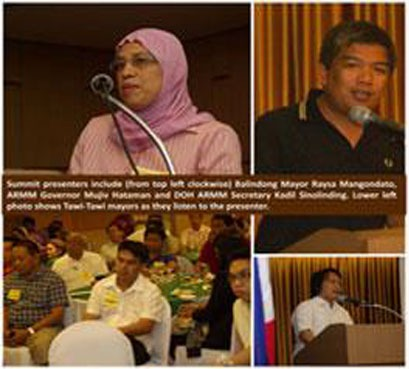 2012, April 9_Summit held for health and education improvements in ARMM