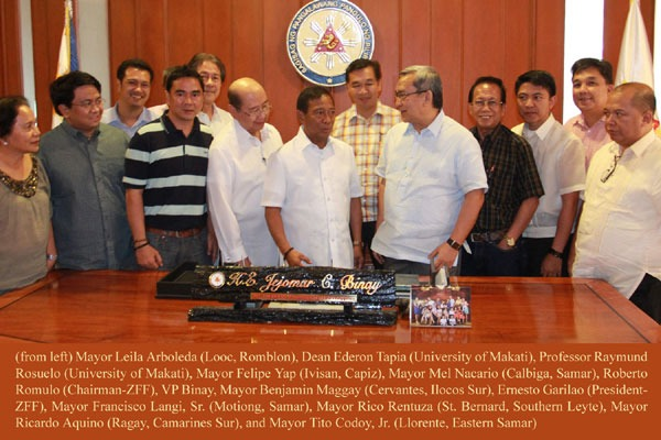 2012, April 9_VP Binay Supports Efforts to Meet Health MDGs
