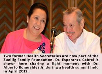 2012, December 10_Former Health Chief Named to ZFF Board